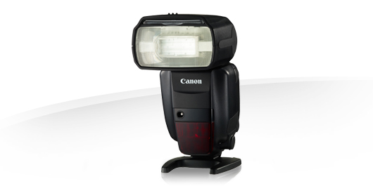Canon speedlight 600ex su stativo per wireless